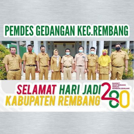 SELAMAT HARI JADI KABUPATEN REMBANG YANG KE 280