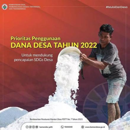 PRIORITAS PENGGUNAAN DANA DESA TAHUN 2022