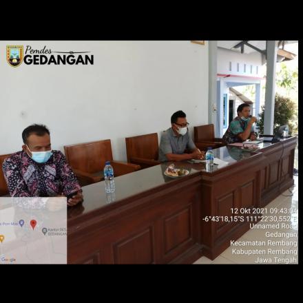 Rakor Pembentukan Tim Penyusun RKPDes 2022